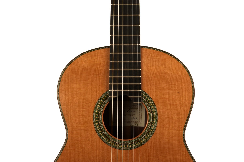 Guitarra clásica para concierto CC 37   Felipe Conde, luthier