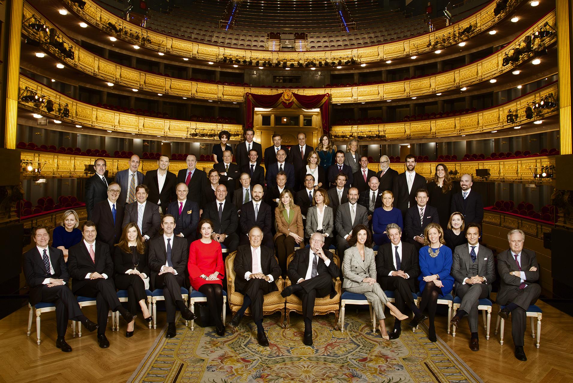 miembros del círculo fortuny