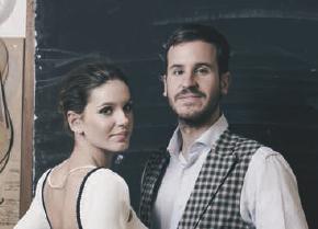 Maria Conde y Felipe Conde en Vanity Fair